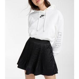 NWT Satin Pleated Black Mini Skirt - Twik @ Simons